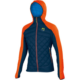 Karpos Lastei Active Plus Jacket Men, tangerine tango/insignia blue
